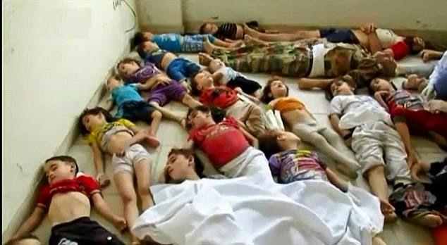 Gas attacks in Syria