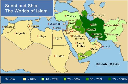 Suni and Shia world