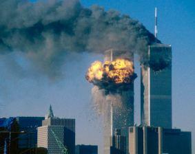 United Flight 175 Impacting Two World Trade Center