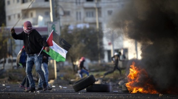 Clashes between Palestinians and Israel