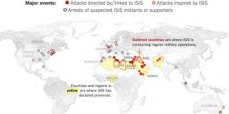 History of ISIS Attacks