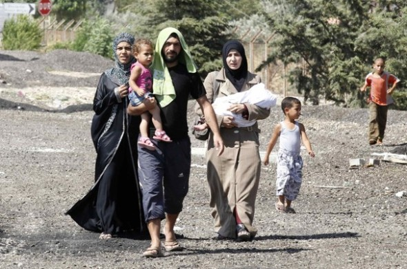 Refugees within Syria