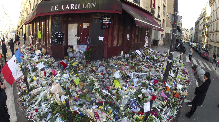 Remembrance and Honoring terror attacks on Paris