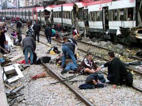 Terror attack in Spain on train