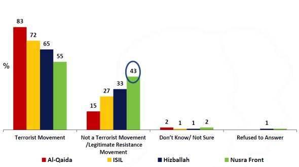 Who's a terrorist organization?