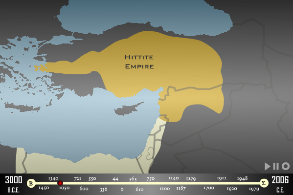 History Middle East 02 - 1345BC Hittite