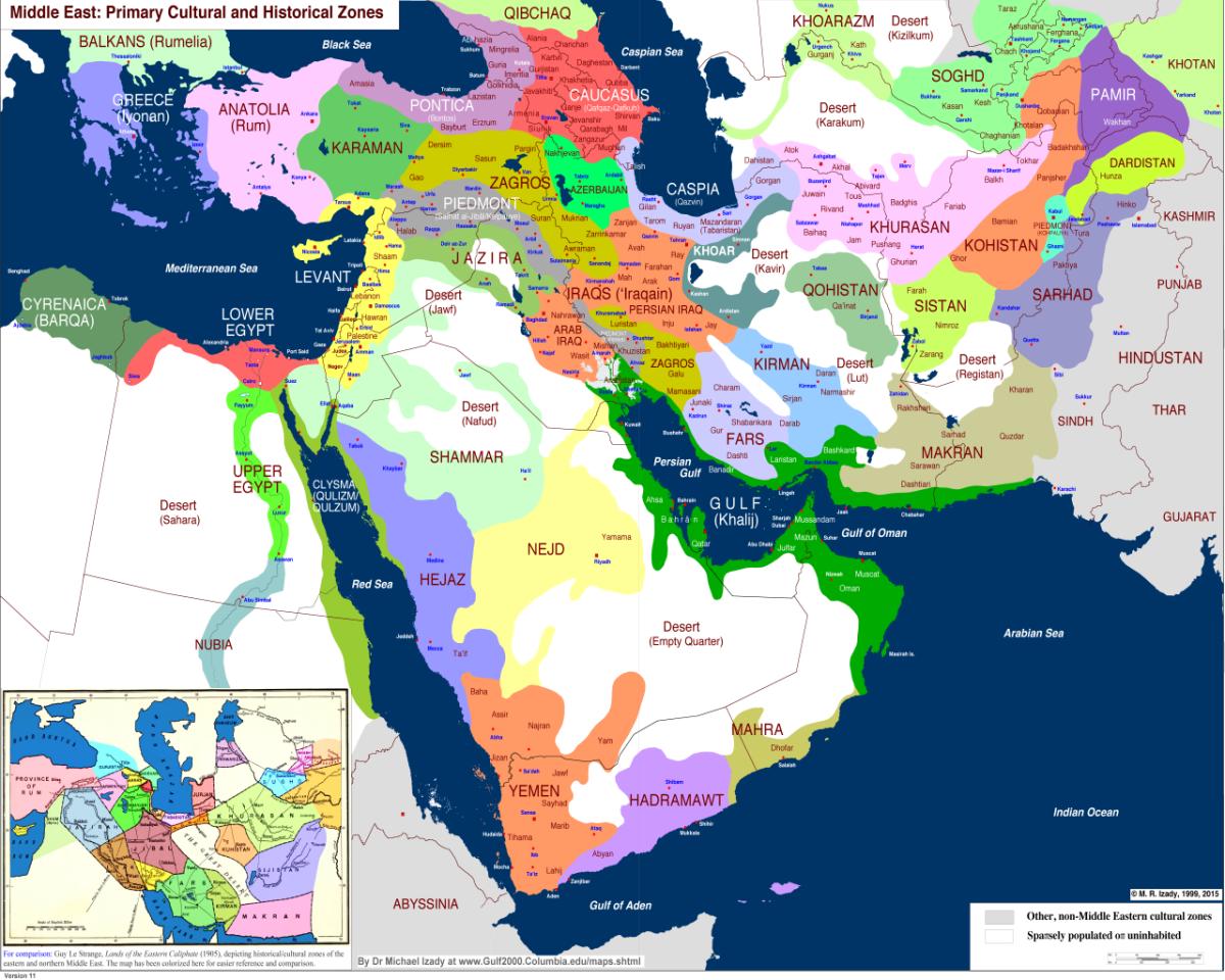 Islam Maps