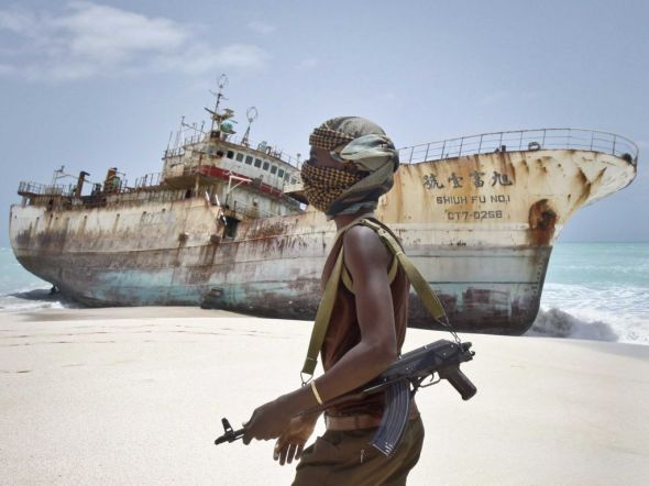 Pirates from Somalia