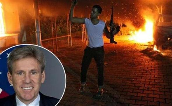 U.S. Ambassador to Libya Christopher Stevens killed