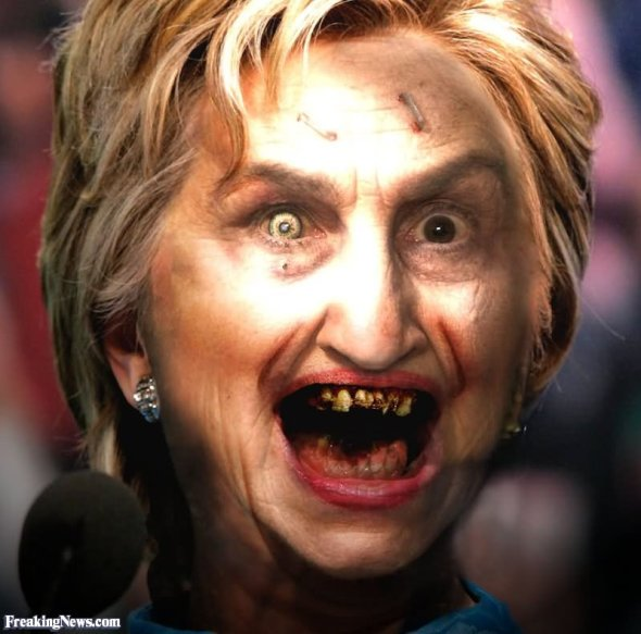 Funny-Hillary-Clinton-With-Scary-Face-Image