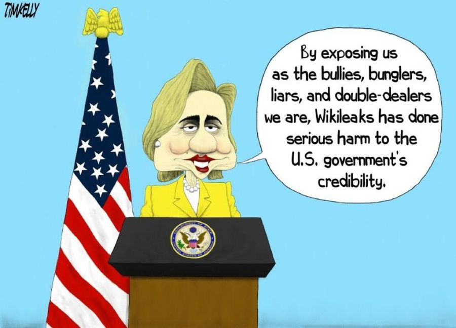 Clinton and the WikiLeaks revelations
