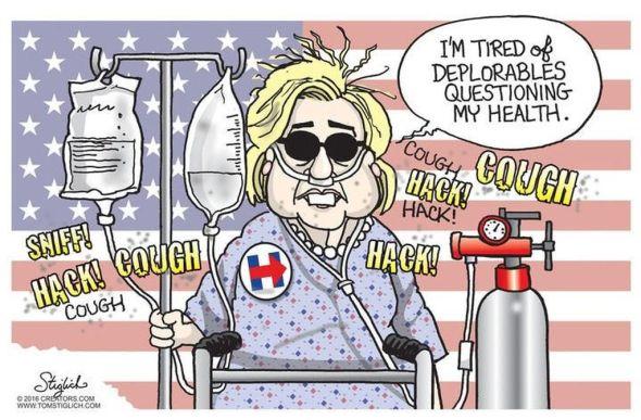 Clinton's sickness
