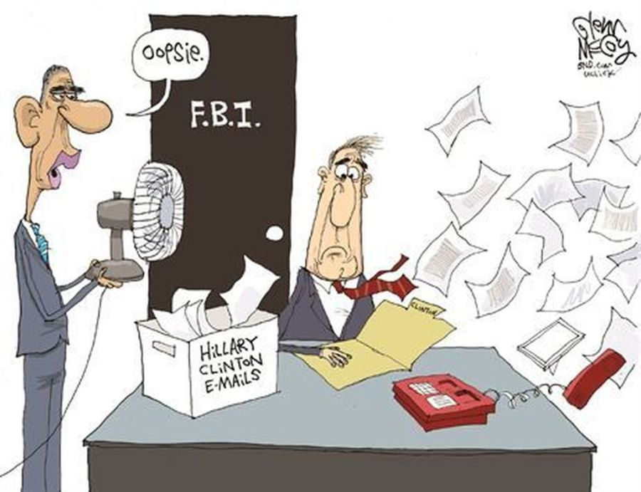 Obama interference with FBI investigations about Hillary Clinton?