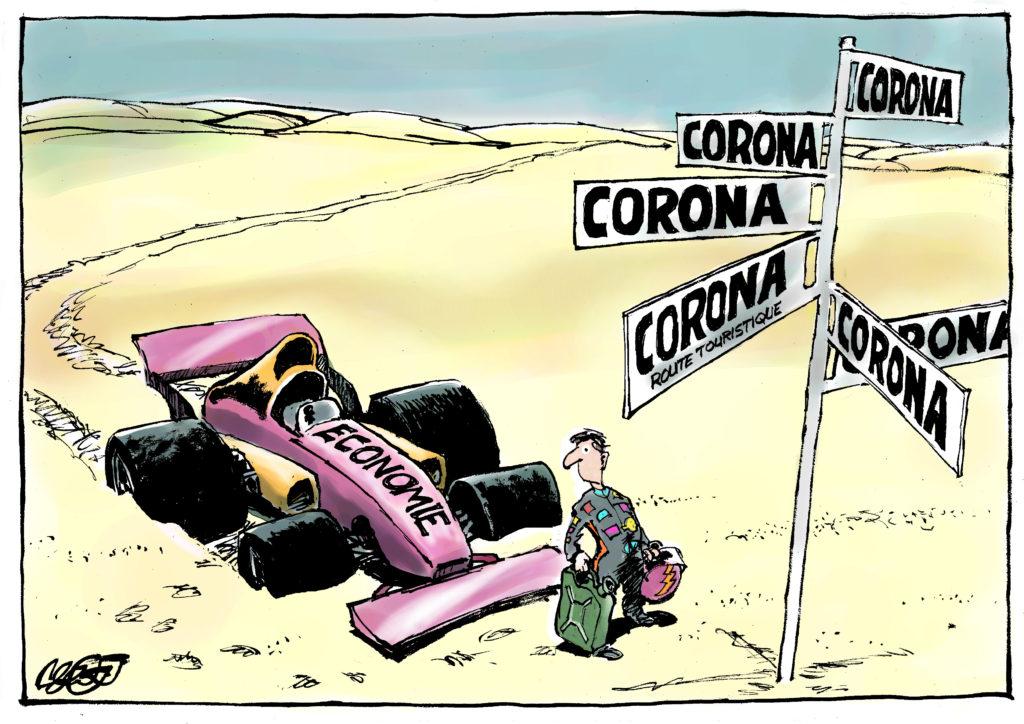 The economy and corona